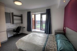 Chester University single room